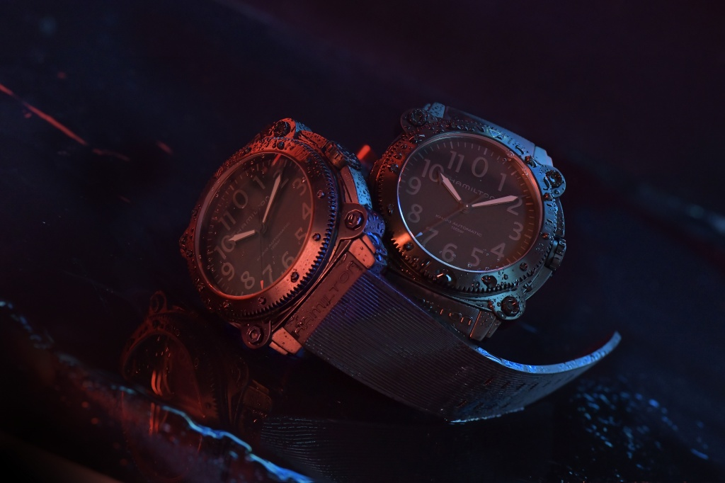 Hamilton Belowzero Titanium Limited Edition Red & Blue_H78505331 & H78505332_Lifestyle 1.jpg