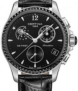 Certina DS First Chronograph Moon Phase